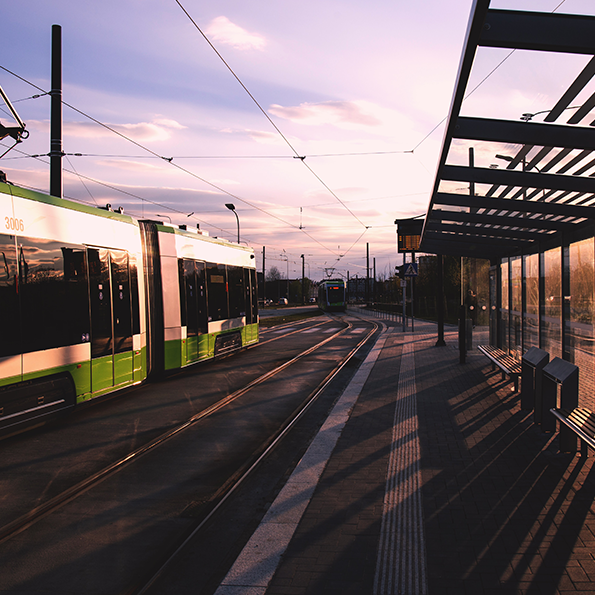 Tramway tisseo à Toulouse